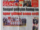 Dostluk Spor Sosyal Gelişim Kampı Mersin'de Düzenlendi