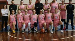 A Kadın Basketbol Takımından Galibiyet serisi