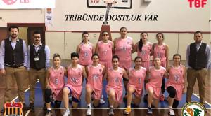 A Kadın Basketbol Takımımız Kocatürk Kolejini Misafir Edecek…