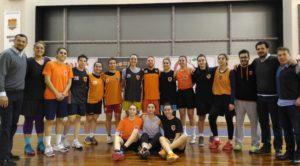 Dostluk Spor Kadın basketbol A takımı, eski sporcusu Furkan Kızılay ile Survivor öncesi bir araya geldi…